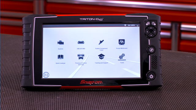 Snap-on TRITON-D10 Integrated Diagnostic System