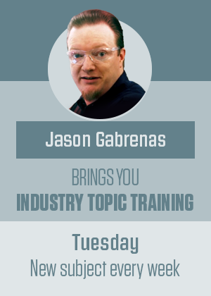 Jason Gabrenas, Snap-on National Trainer