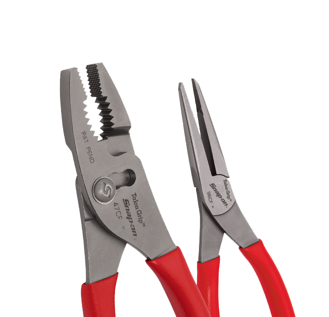 Vectoredge cutters and talon grip pliers.