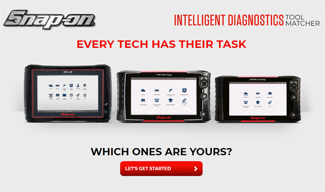 Find out which Snap-on Intelligent Diagnostics scan tool is best for you.