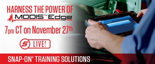 November 27 MODIS Edge Livestream Training