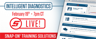 February 19, 2019 Intelligent Diagnostics Livestream Training