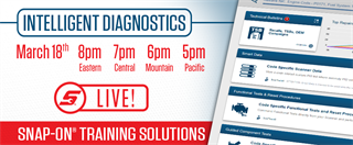 March 18, 2019 Intelligent Diagnostics Livestream Training