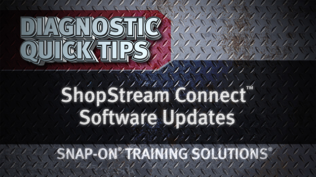 ShopStream Connect Software Updates
