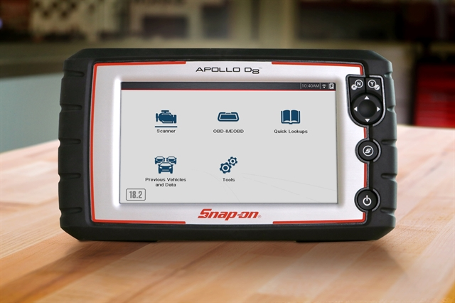 With the introduction of Apollo D8™, Snap-on® is making Intelligent Diagnostics more accessible to more technicians, at all skill levels.