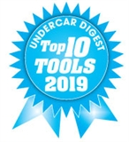 Undercar Digest Top 10 Tools Award Winner 2019