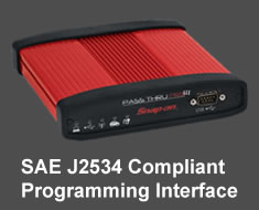 Pass Thru Pro III J2534 Reprogramming interface