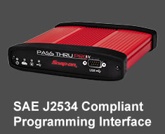 Pass Thru Pro IV J2534 Reprogramming interface