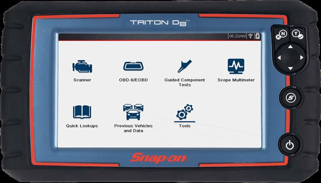 TRITON-D8 Diagnostic Scan Tool | Snap-on Diagnostics