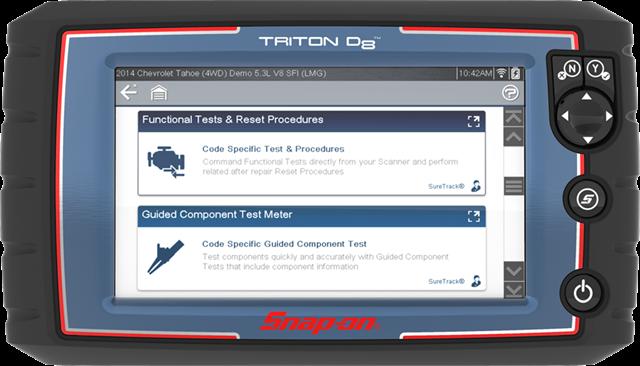 TRITON-D8 Diagnostic Scan Tool   Snap-on Diagnostics