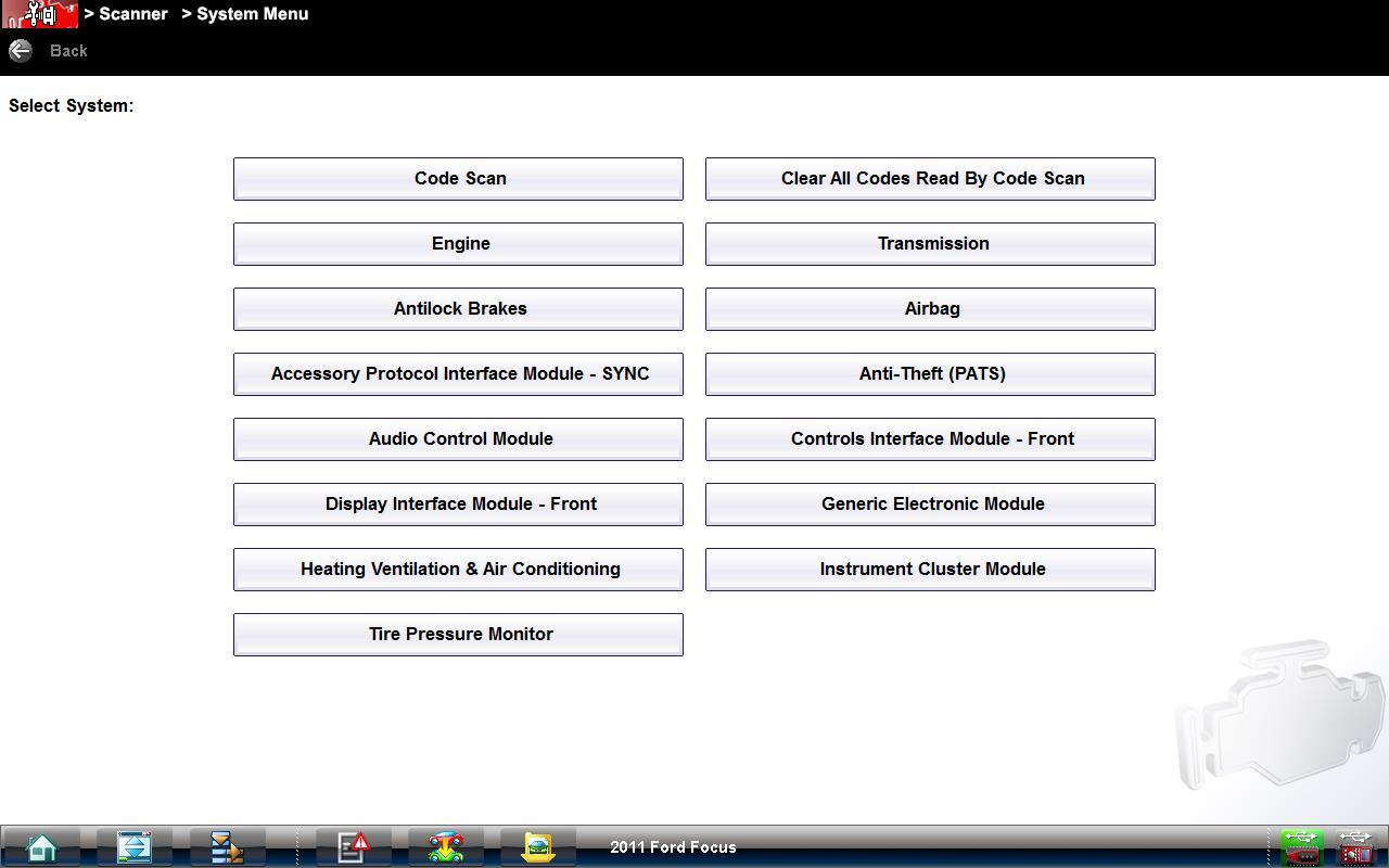 Verus Edge System Diagnostic Snap On Diagnostics Ford Focus Pats Wiring