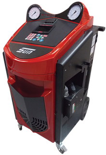 The Sun KoolKare Blizzard HFO is a top-of-the-range car air conditioning machine that allows you to recycle HFO1234yf refrigerant.