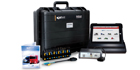 The Sun Commercial Diagnostics tool from Snap-on is a popular unit for the truck and trailer market.