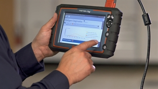 Find out how the new TRITON-D8™ from Snap-on gives you the information you need in an easy-to-navigate screen that guides you straight to the problem and fix.