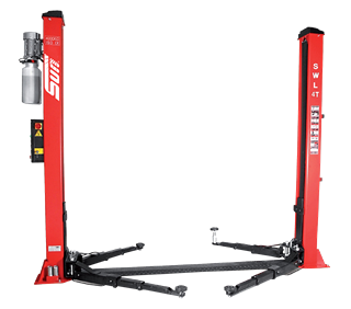 The Sun 2 post car lift with baseframe is available in a range of sizes including 3.5t, 4t and 5t lifting capacities.