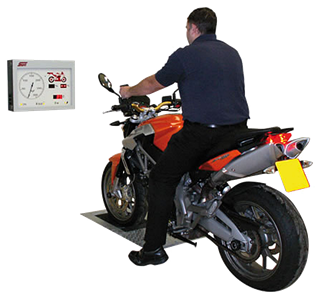 The Sun motorcycle MOT bay can be as a stand alone package or can be added to your existing MOT bay.