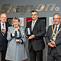 Snap-on has been formally presented with the honours after winning two prestigious Queen's Awards for Enterprise.