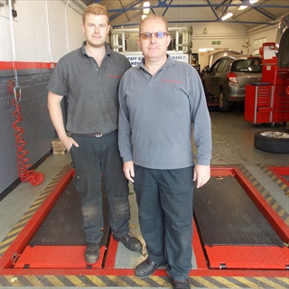 AJD Auto Repairs in King's Lynn underwent a workshop upgrade including new Sun car scissor lifts.