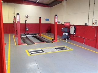 Avon Motors purchased a Sun MOT bay.