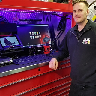 GMS in Tavistock purchased a Snap-on VERUS Edge car diagnostic tool.