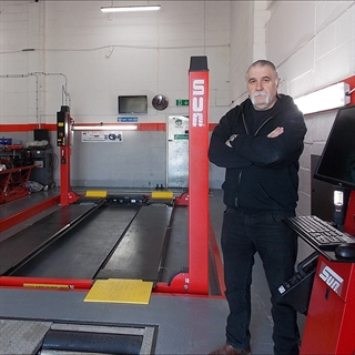 Tenen UK in Corby purchased a Sun automated test lane.