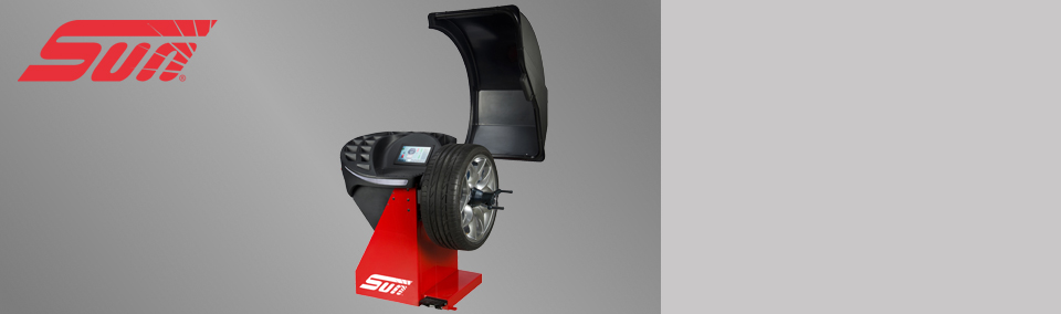 The Sun SWB340L is a professional touchscreen wheel balancer for cars, light trucks and motorcycles.