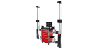 The premier wheel alignment system in our range is the Sun V3400 wheel aligner.