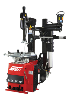 The Sun STC5325 is a tyre changer designed for all workshop types.