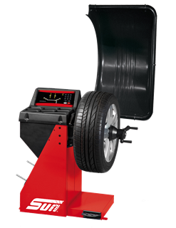 The Sun SWB100 from Snap-on is a digital wheel balancer for cars, light trucks and motorcycles that combines accuracy with a small footprint and value for money.
