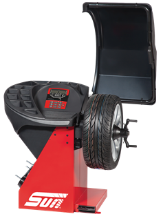 The Sun SWB300L is a digital wheel balancer for cars, light trucks and motorcycles.