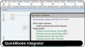 ShopKey Shop Management, QuickBooks Integrator