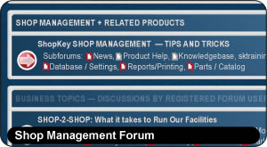 ShopKey Shop Management, Shop Management Forum